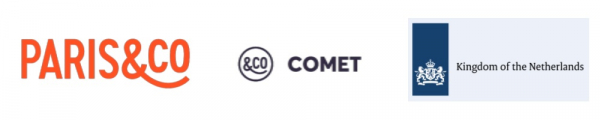 Logos Paris&Co Comet Kingdom of the Netherlands
