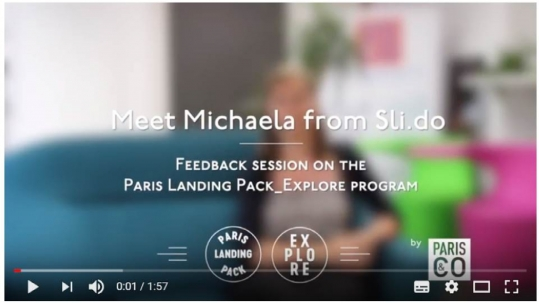 Meet Michaela from Sli.do
