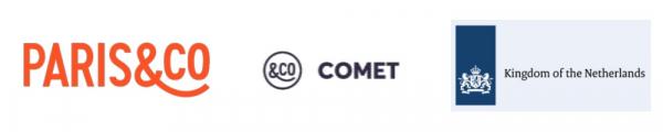 Logos Paris&Co Comet Kingdom of the Netherlands